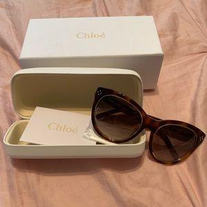 Chloé tortoise sunglasses